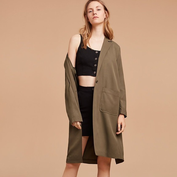 Wilfred Jackets & Blazers - Aritzia Wilfred free herms jacket